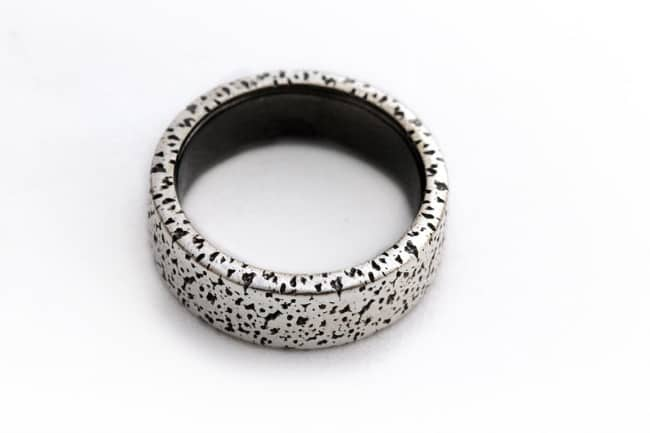 Speckle Textured Ring