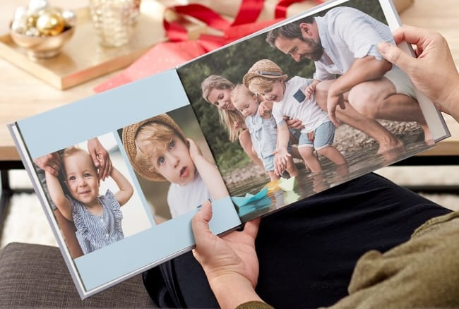 custom Photo Book example