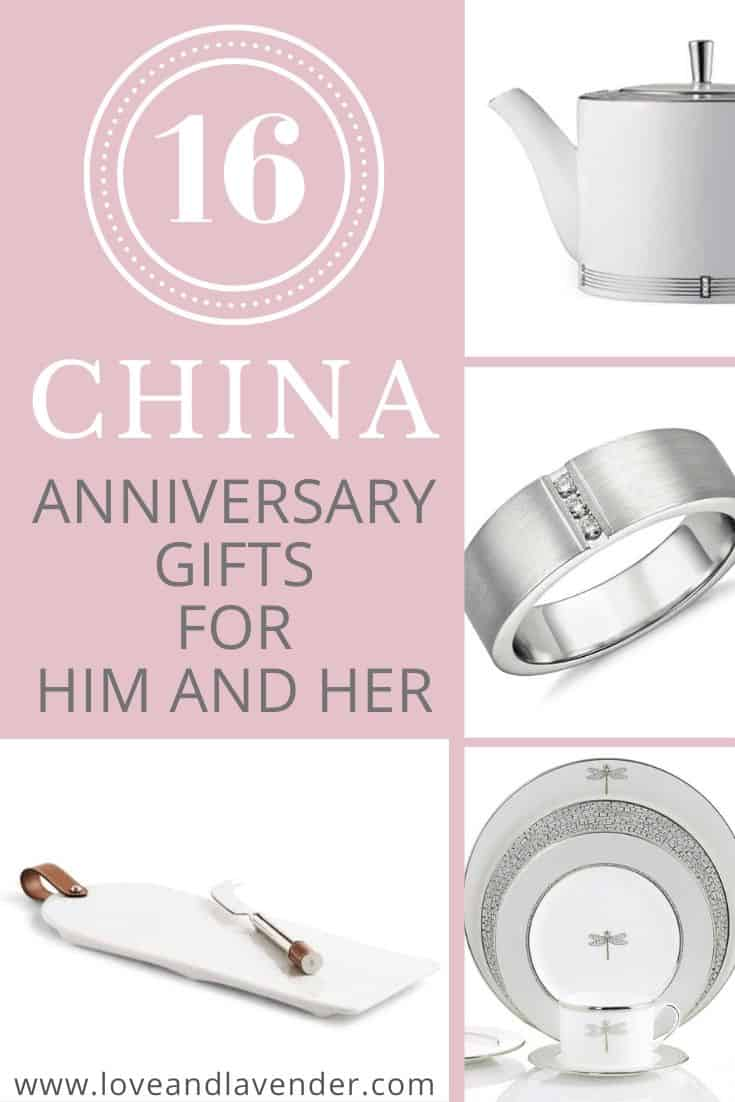 16 Unique China Anniversary Gifts For Your 20th Year