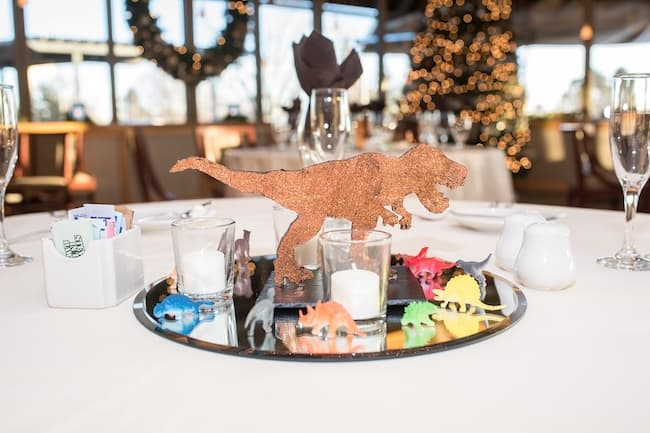 Quirky Colorado Wedding with Glitter Dinosaurs Feature