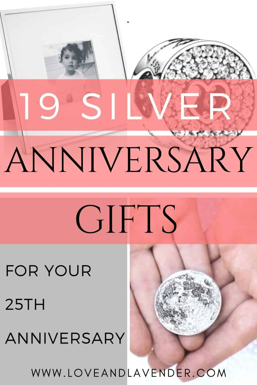 19 Stunning Silver Wedding Anniversary Gifts 25th Year For Him Her