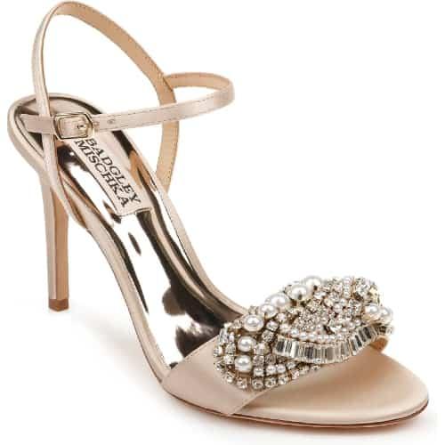 Badgley Mischka Odelia Crystal Embellished Sandal