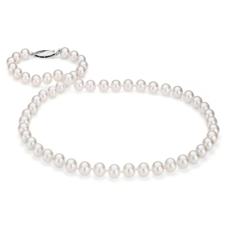 Classic Akoya Cultured Pearl Necklace