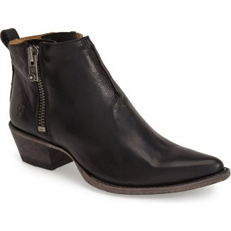 Frye 'Sacha' Washed Leather Ankle Boot