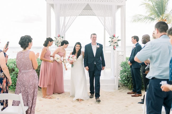 Intimate Oceanside Wedding in Jamaica Feature