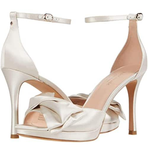 Kate Spade Bridal Bow Ankle Strap Sandals