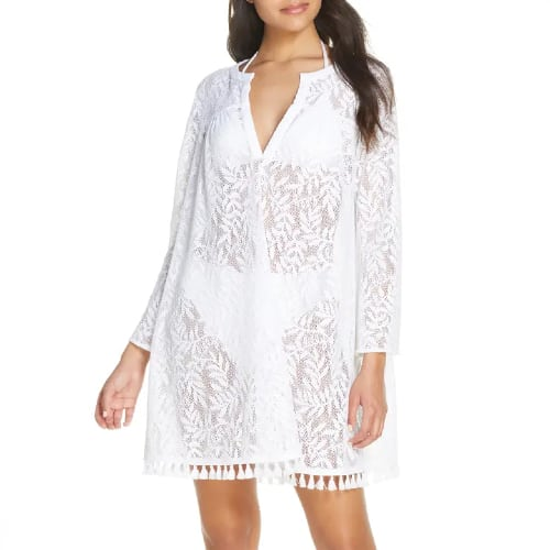 Kizzy Lace Cover-Up Tunic LILLY PULITZER
