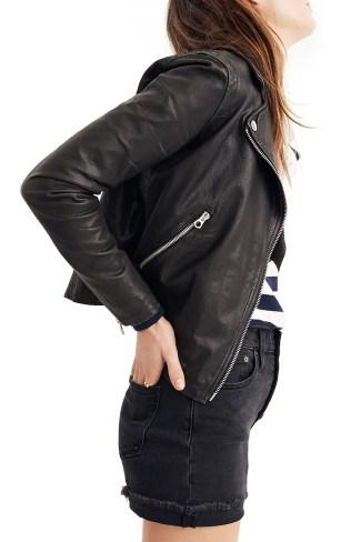 Madewell Women's Leather Moto Jacket