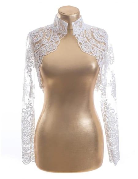 lace bolero long sleeve