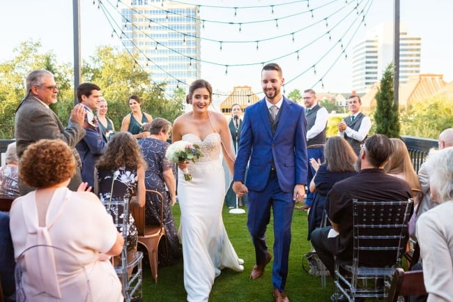 Sustainable DIY Wedding in St. Petersburg's Station House Featured