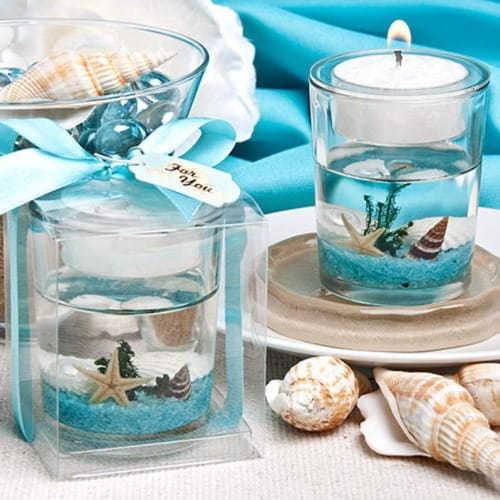 Beach-Themed Candles