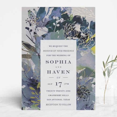 Minted Blooming Beauty Invite