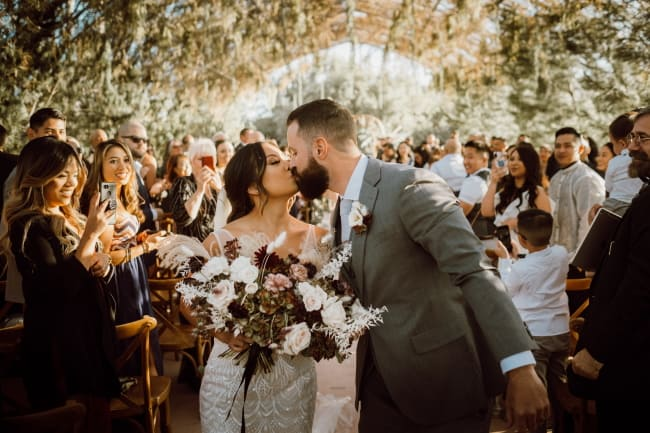 Boho Chic Wedding in Ethereal Garden Featured