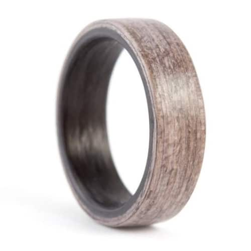 Carbon Fiber Metallic Band