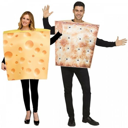 Cheese & Crackers Halloween Costume