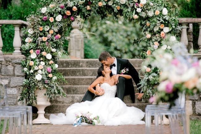 Lush Floral Wedding Inspiration Feature