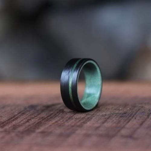 Alchemist Wood Ring