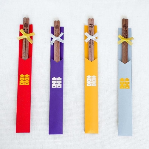 Personalized Chopstick favors