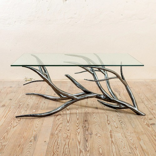 Sycamore Hand Forged Iron Coffee Table