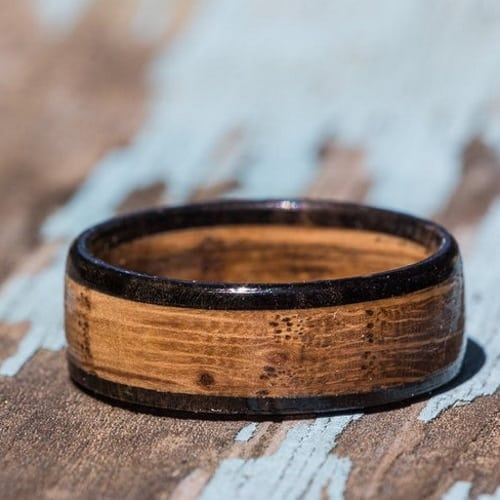 Tennessee Whisky Barrel and Ebony Band