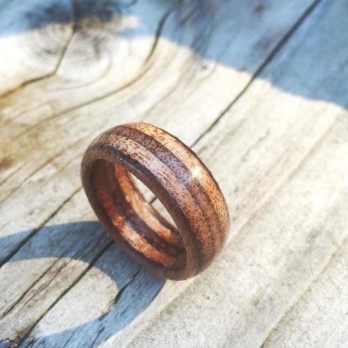 Mahogany Marine Ply ring