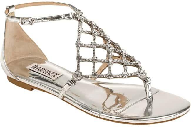 badgley mischka zoanne sandals