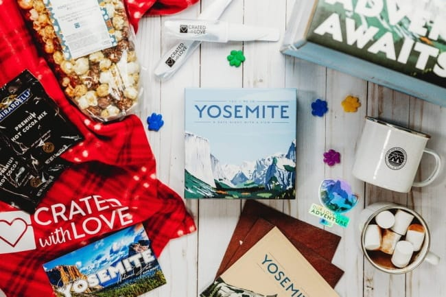 crated with love date night box
