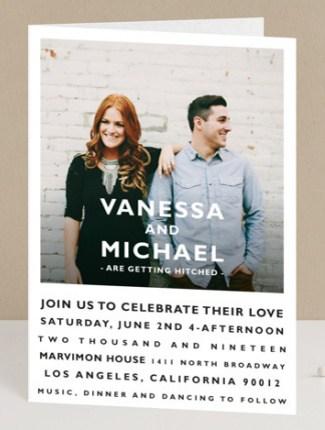 Desenfadado Wedding Invite Minted