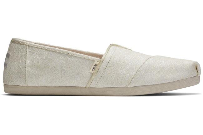 toms ivory alpargata shoe