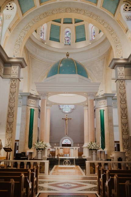 The Immaculata Chapel At The University of San Diego