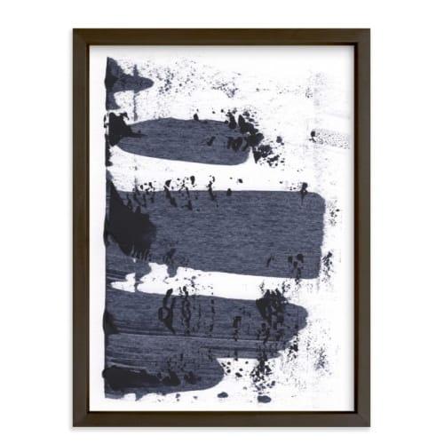 minted abstract silkscreen wall art