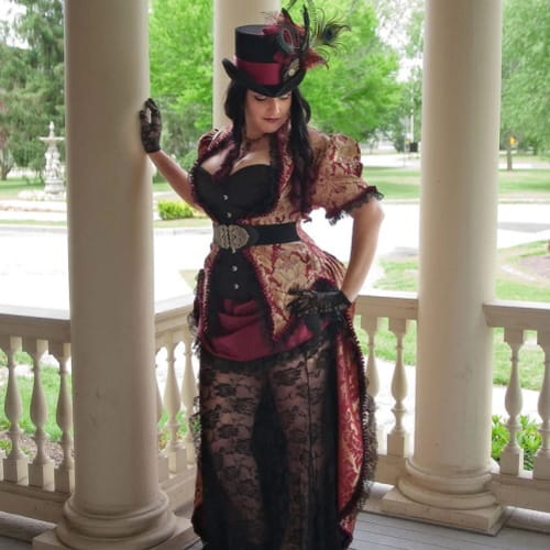 6 Steampunk Wedding Dresses For Fairytale Antique And Victorian Styles