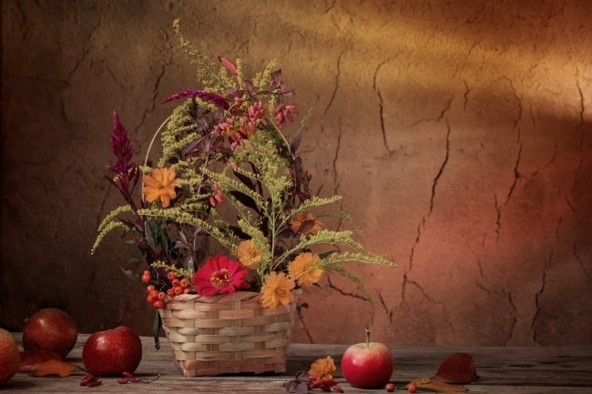 Thanksgiving Gift Basket feature