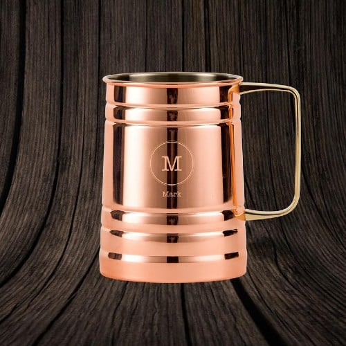 Customized Copper Beer Stein