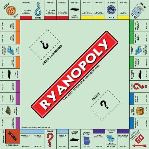Customized Monopoly game