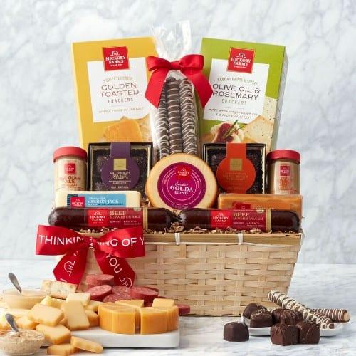 gourmet nibbles Gift Basket