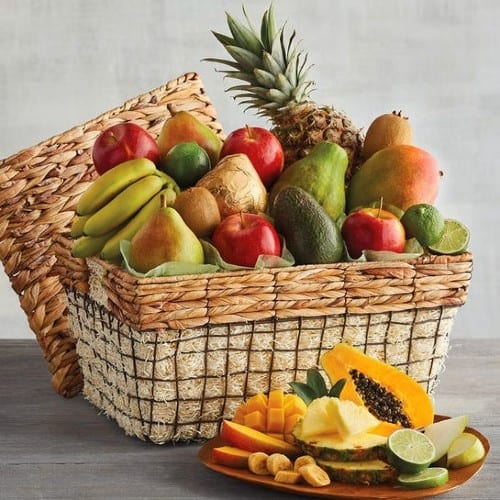 fruit and vegetable Gift Basket