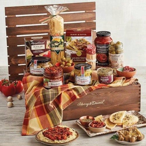 Italian foods Gift Basket