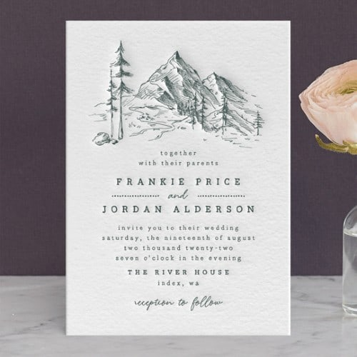 Fresh Air Mountain Invitation