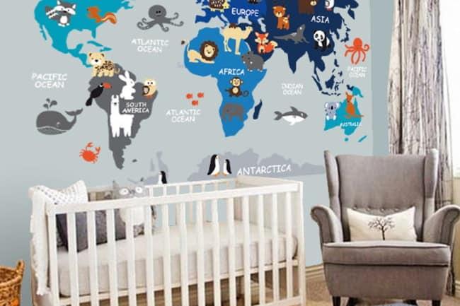 nursery wall decal art