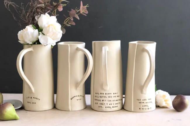 ceramic custom pottery vase