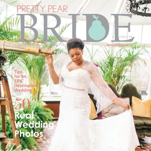 The Pretty Pear Bride magazine