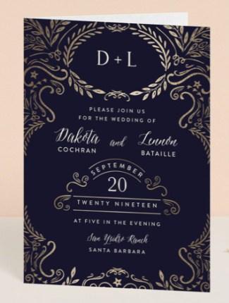 wedding enchantment invite