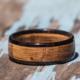 wood wedding band for men