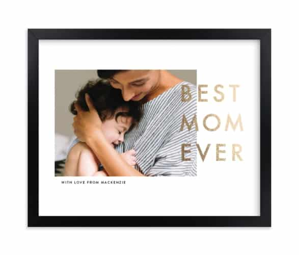 best mom ever print