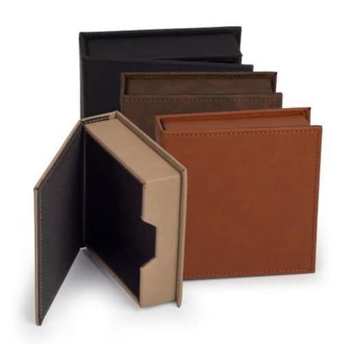 Rustic Leather Keepsake Box