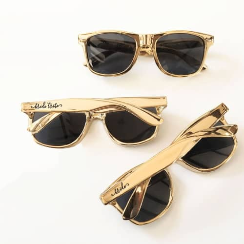 Gold Bride Tribe Sunglasses