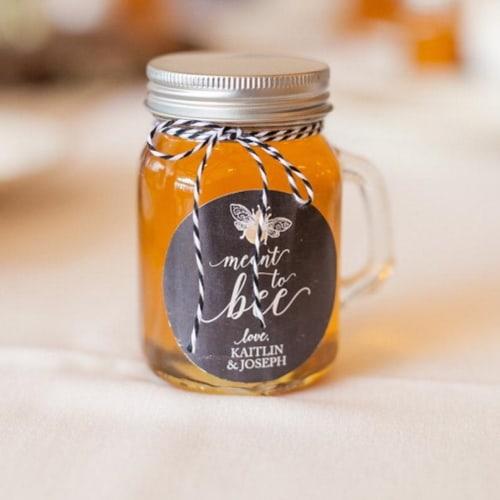 honey wedding favor personalized
