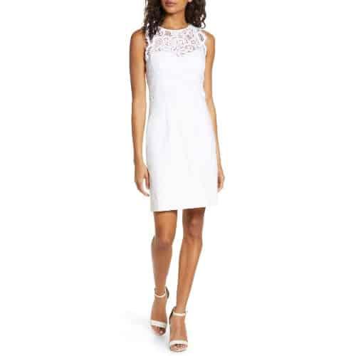 Sharice Lace Sheath Dress