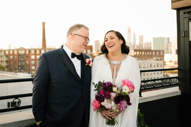 Urban Garden Rooftop Wedding Featured